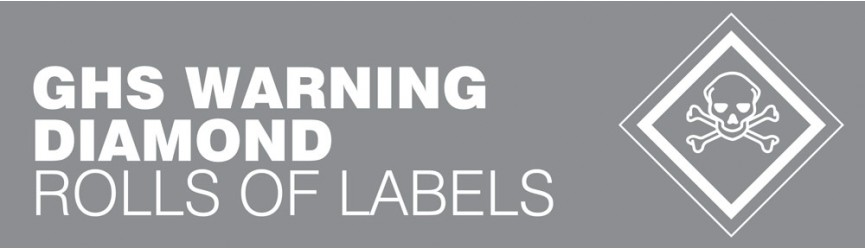 GHS Warning Diamond Labels