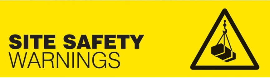 Site Safety Warning Signs