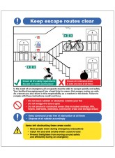 Keep Escape Routes Clear - Multiple Occupancy