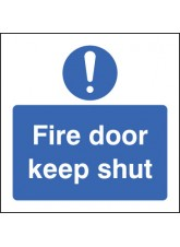Fire Door Keep Shut