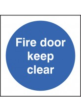 Fire Door Keep Clear
