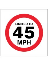 Limited to 45mph