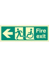 Disabled Fire Exit <---
