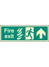 Fire Exit Up Photo HTM