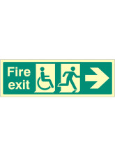 Disabled Fire Exit --->