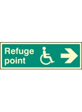 Refuge Point Arrow Right