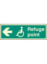 Refuge Point Arrow Left