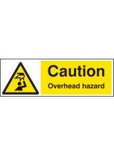 Caution Overhead Hazard