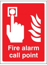 Fire Alarm Call Point - Quick Fix Sign