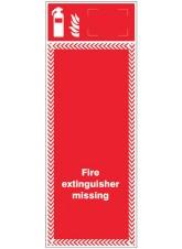 Extinguisher Missing Board