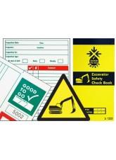 Excavator Inspection Check Book