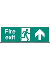 Fire Exit Up - Quick Fix Sign