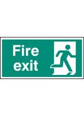 Fire Exit - Quick Fix Sign