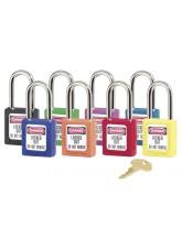 Purple Lockout Padlock - Keyed Different