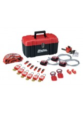 Standard Lockout Kit, with Electrical & Mechanical Devices