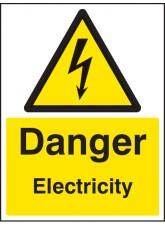 Danger Electricity - Quick Fix Sign