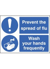 Prevent the Spread of Flu - Wash Your Hands Frequently