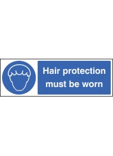 Hair Protection Must Be Worn