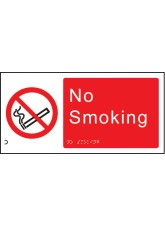 Braille - No Smoking