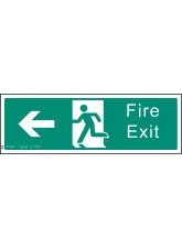Braille - Fire Exit Left