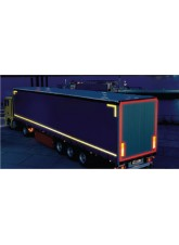 Red Lorry Marking Contour Tape - 51mm x 50m (curtain Vehicle)
