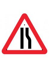 Re-Flex Sign - Road narrowing right