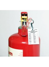 Extinguisher Visual Inspection Tag - 50 x 80mm (Pack of 10)
