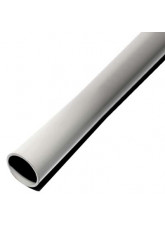 Grey galvanised steel pole powder coated 2.5mtr x 50mm