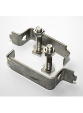 50mm Stainless Steel Back to Back Clips (Pair)