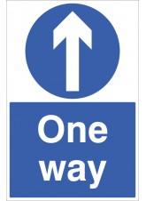 One Way - Floor Graphic