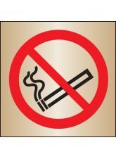 No Smoking - Brass