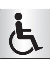 Disabled WC - Aluminium