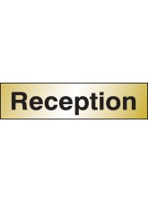 Reception - Engraved Brass Effect