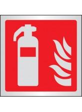 Extinguisher Symbol - Aluminium