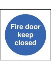 Fire Door Keep Closed - Quick Fix Sign