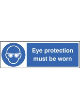 Eye Protection Must Be Worn - Quick Fix Sign