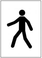 Stencil Kit - 300 x 400mm - Pedestrian
