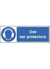 Use Ear Protectors - Quick Fix Sign