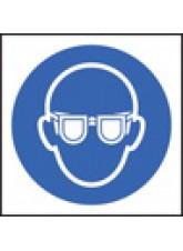 100 x Goggles Labels - 50 x 50mm