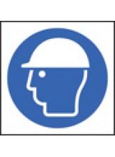 100 x Safety Helmet Labels - 50 x 50mm