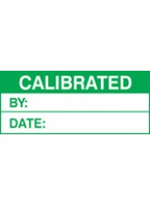 Roll of 100 Calibrated Labels - 50 x 20mm