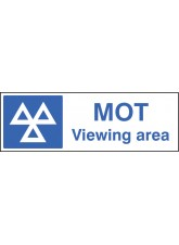MOT Viewing Area