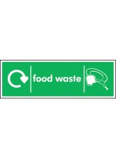 WRAP Recycling Sign - Food Waste