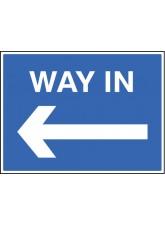 Way in <---