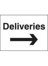 Deliveries Arrow Right